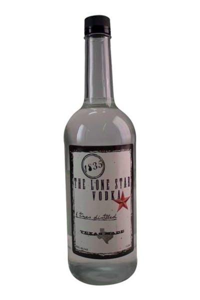 1835 Lone Star Vodka