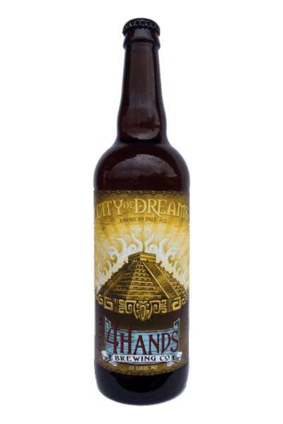 4 Hands City of Dreams Pale Ale