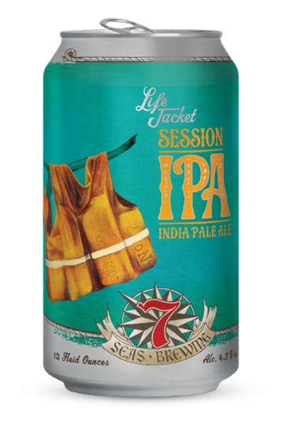 7 Seas Life Jacket IPA