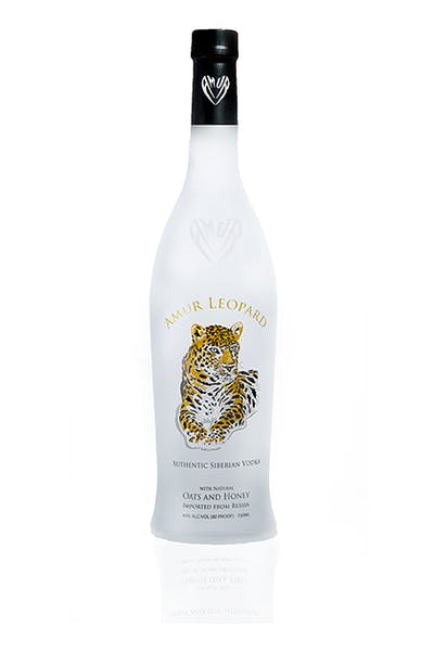 Amur Leopard Oats & Honey Siberian Vodka