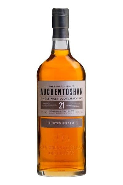 Auchentoshan Lowland Single Malt Scotch Whisky 21 Year