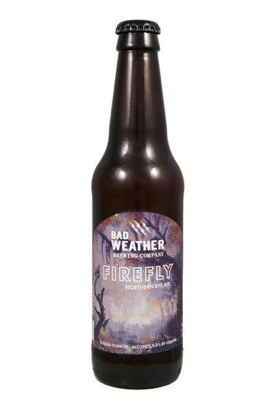 Bad Weather Firefly Rye Ale