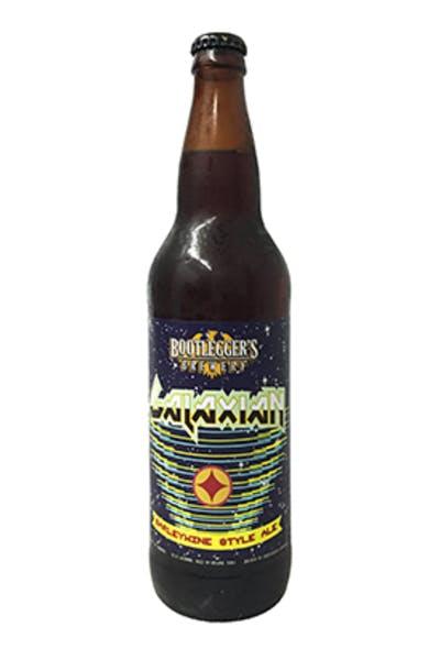 Bootleggers Galaxian Barleywine Style Ale