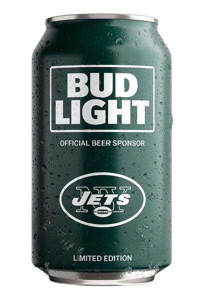Bud Light NY Jets NFL Team Can