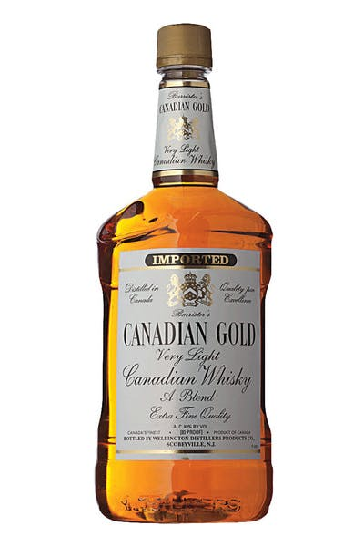 Canadian Gold Very Light Canadian Whisky