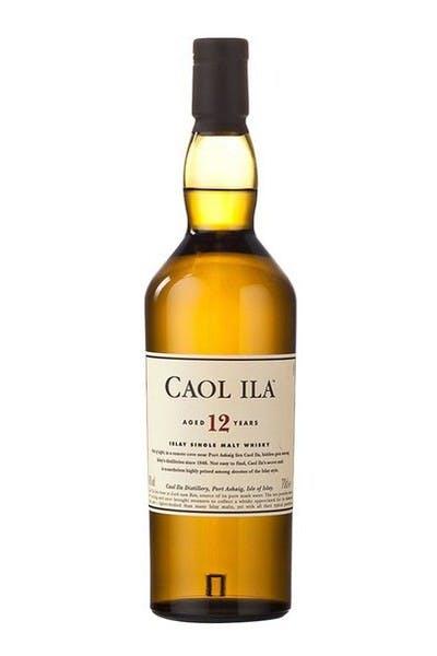 Caol Ila Single Malt Scotch 12 Year