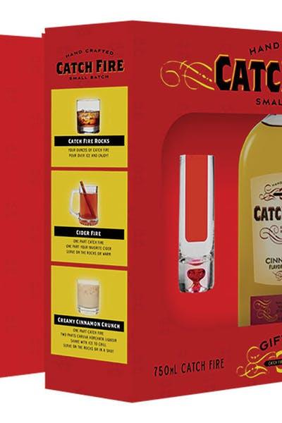 Catch Fire Cinnamon W/Glasses