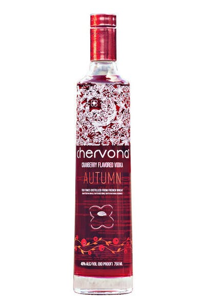 CHERVONA AUTUMN Cranberry Infused Vodka