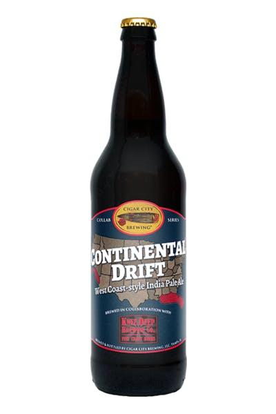 Cigar City/Knee Deep Continental Drift IPA