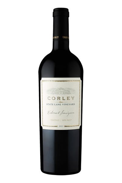 Corley Family Cabernet Sauvignon State Lane Yountville