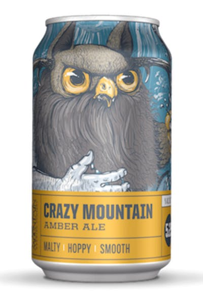 Crazy Mountain Brewing Amber Ale