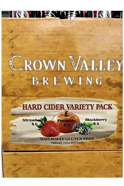 Crown Valley Cider Variety Pack