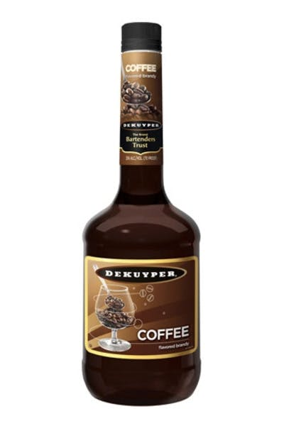 Dekuyper Brandies Coffee Brandy