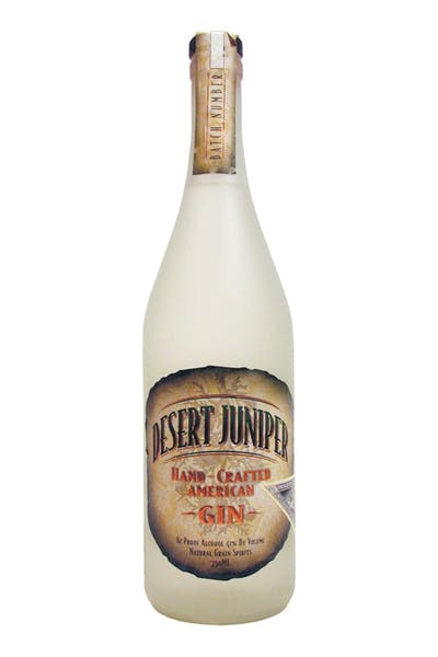 Desert Juniper Hand Crafted American Gin