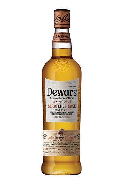 Dewar's White Label Scratched Cask Scotch