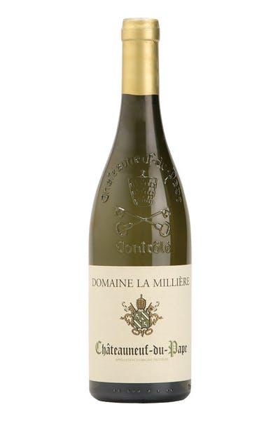Domaine La Milliere Chat Du Pape Blanc