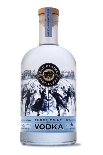 Eau Claire Three Point Vodka