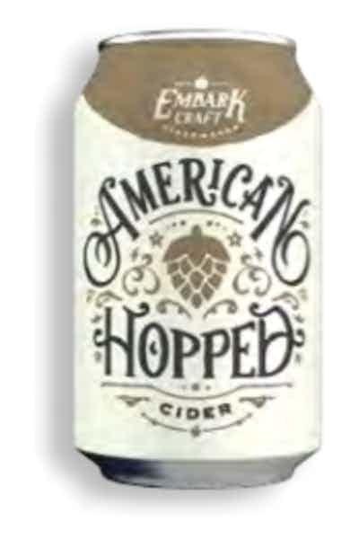 Embark American Hopped Cider