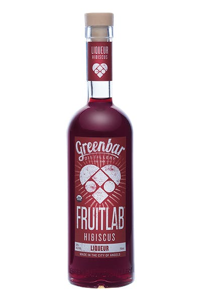 Fruitlab Hibiscus Liqueur from Greenbar Distillery