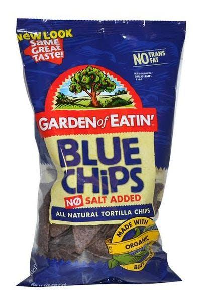 Garden of Eatin' Blue Tortilla Chips (No Salt)