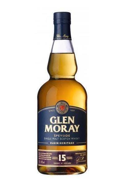 Glen Moray 15 Year Single Malt Scotch