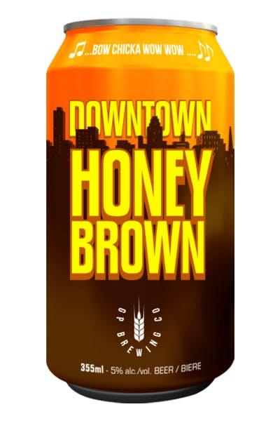 GP Brewing Downtown Honey Brown
