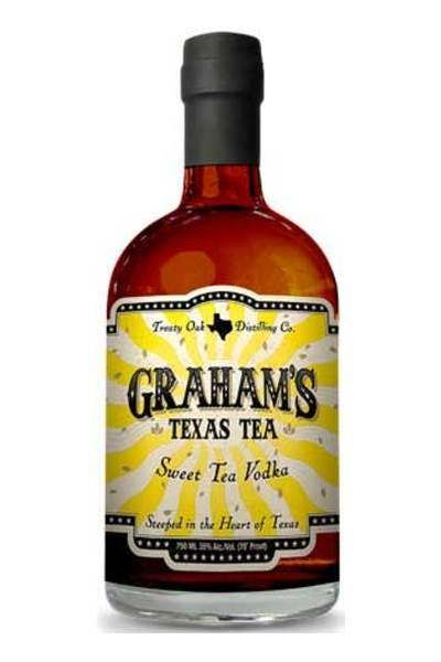 Graham's Texas Tea Vodka