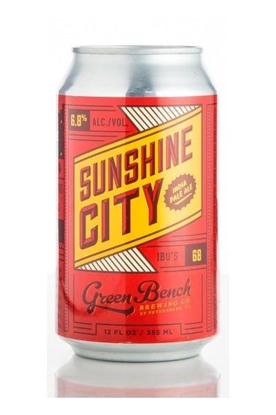 Green Bench Sunshine City IPA