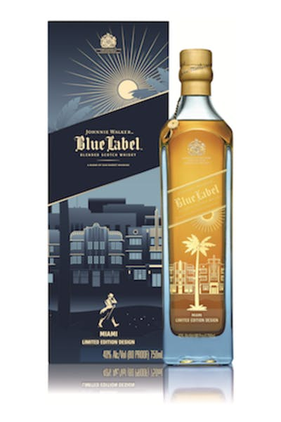 Johnnie Walker Blue Label Miami Edition