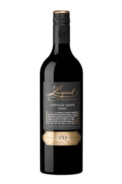 Langmeil Orphan Bank Shiraz 2014