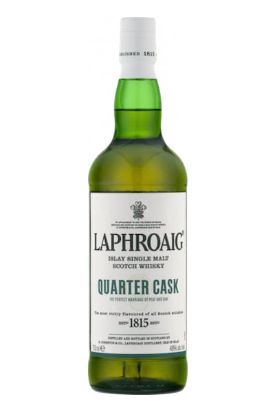 Laphroaig Quarter Cask Islay Single Malt Scotch Whiskey
