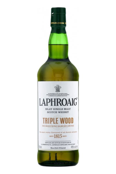 Laphroaig Triple Wood Islay Single Malt Whiskey