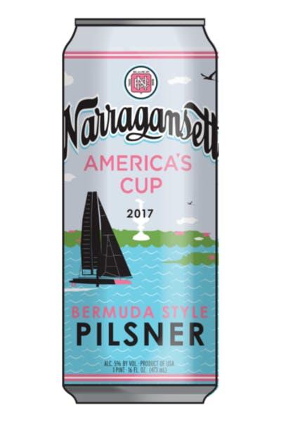Narragansett America's Cup Bermuda Style Pilsner
