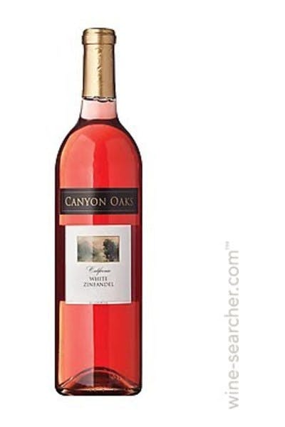 Oak Vineyards White Zinfandel 2013