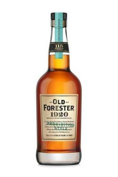 Old Forester 1920