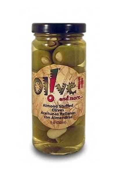 Olive It Almond Stuffed Olives