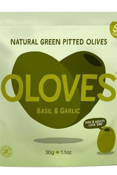 Oloves Basil & Garlic Olive Snacks
