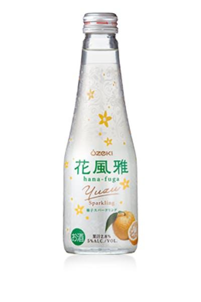 Ozeki Hana Fuga Yuzu Sparkling Sake