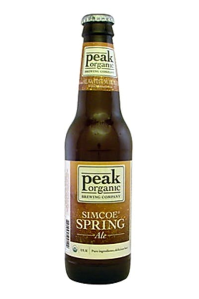Peak Organic Simcoe Spring Ale [Discontinued]