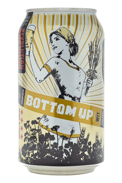 Revolution Brewing Bottom Up Wit