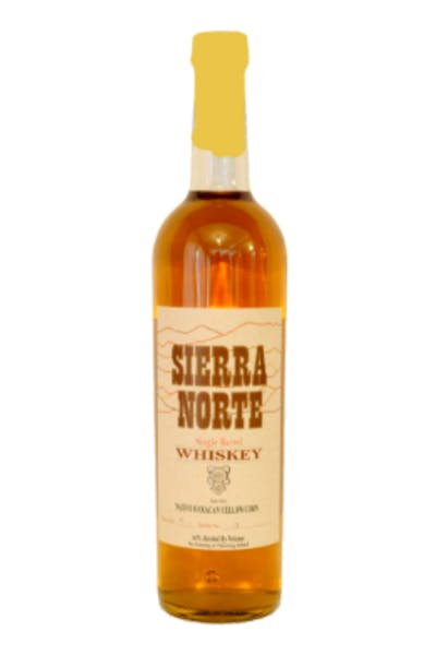 Sierra Norte Single Barrel Yellow Corn Oaxacan Whiskey