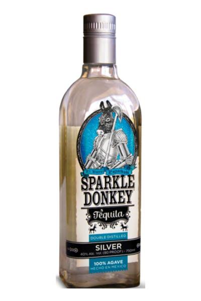 Sparkle Donkey Silver Tequila