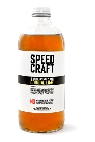 Speed Craft Lime Cordial Syrup