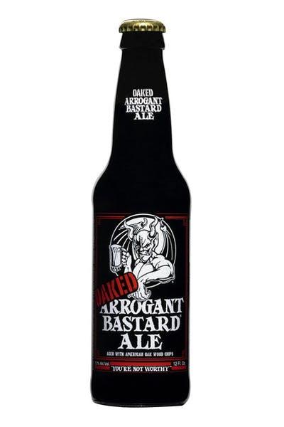 Stone Oaked Arrogant Bastard Ale