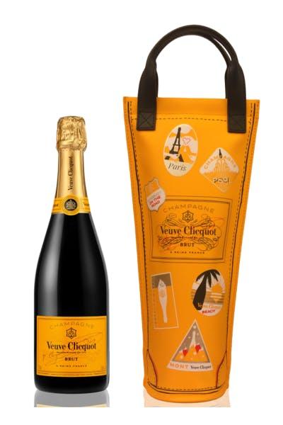 Veuve Clicquot Yellow Label Shopping Bag