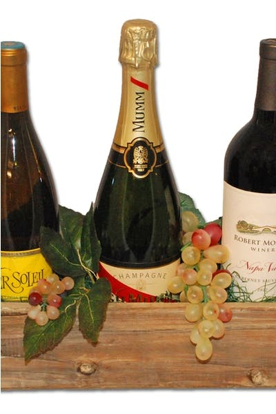 Vineyard Select Wine Trio Gift Basket