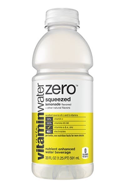 Vitamin Water Zero Squeezed