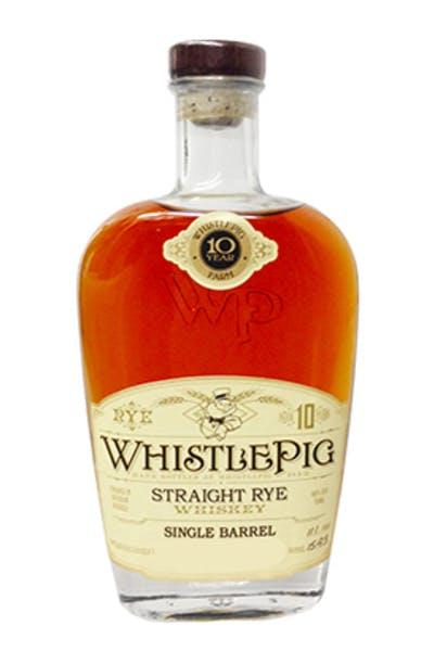 WhistlePig Cask Strength Single Barrel Select Series Rye