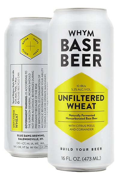 WHYM Unfiltered Wheat Base Beer