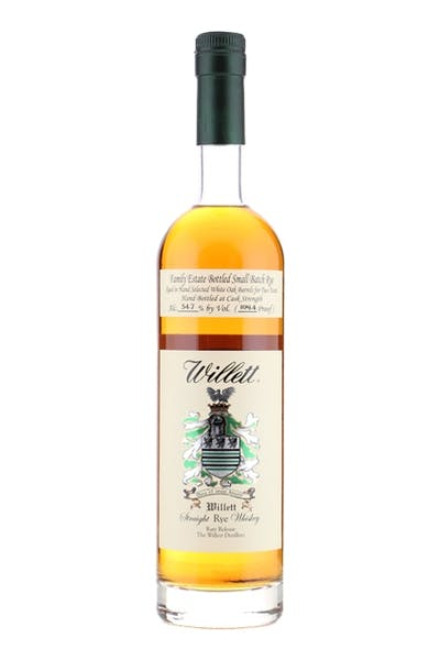 Willett Family Estate Bottled Rye Aged 2 Years